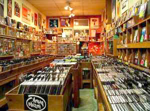 Indie Record Store